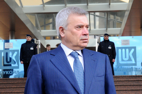 Vaguit Alekperov, diretor da petrolífera Lukoil Foto: Photoshot