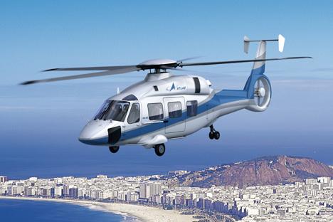 Certificação do helicóptero Ka-62 está prevista para 2014 Foto: Vertolióti Rossíi