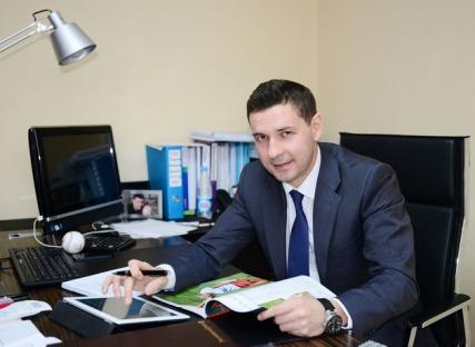 Vladímir Leonov, diretor da Comissão Executiva da 27° Universíada Mundial de Verão de 2013