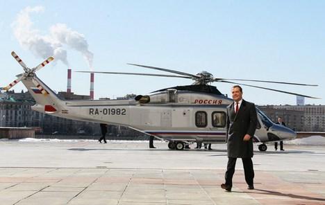 Primeiro-ministro da Rússia, Dmítri Medvedev Foto: AP