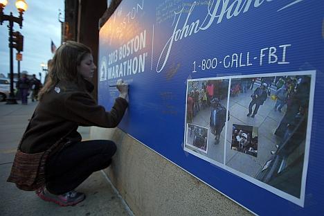 Atentado na maratona de Boston que matou três pessoas e deixou mais de 170 feridos Foto: Reuters