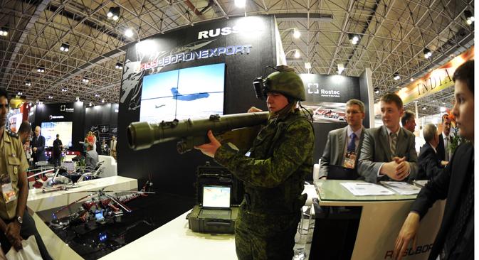 Serguêi Ladíguin, chefe do departamento regional da Rosoboronexport Foto: Reuters