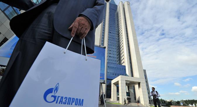 Rússia quer obter um status especial para os projetos da Gazprom Foto: Kommersant