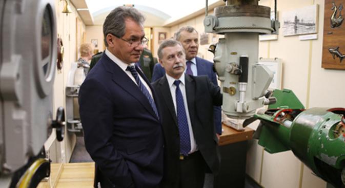 Ministro da Defesa russo, Serguêi Choigu Foto: Mil.ru