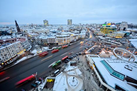 Cidade de Kazan Foto: Slava Stepanov / GELIO