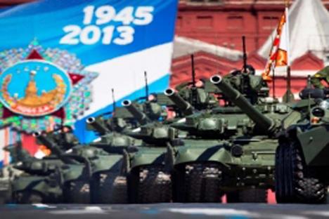 O Dia da Vitória é traidiconalmente celebrado em Moscou no dia 9 de maio Foto: RIA Nóvosti