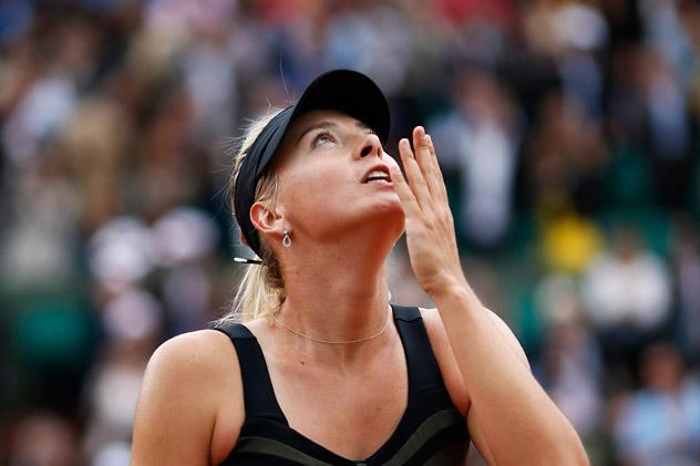 Sharapova venceu a chinesa Na Li na final de Stuttgart em abril Foto: Reuters