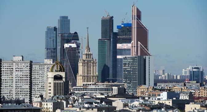 Desenvolvedores russos prometem implementar quase um quarto de todos os projetos de imóveis comerciais da Europa Foto: RIA Nóvosti