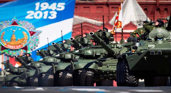 Em 2013, a Rússia comemora os 68 anos do fim da Grande Guerra Patriótica