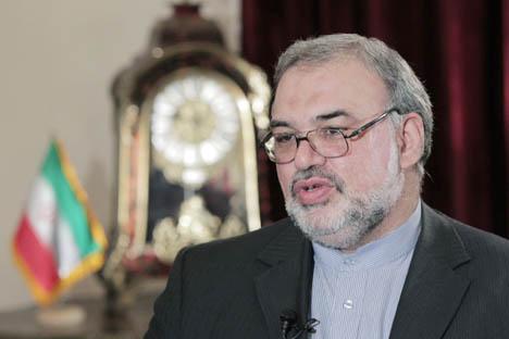 Em primeiro lugar, o país pede a revogação das sanções e a retirada do dossiê nuclear iraniano da agenda do Conselho de Segurança da ONU, declarou o embaixador iraniano em Moscou, Mahmoud-Reza Sadjjadi Foto: RIA Nóvosti