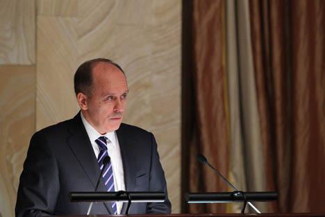 Alexander Bórtnikov, el jefe del Servicio Federal de Seguridad (FSB).