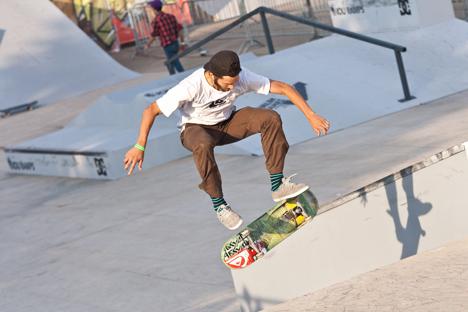 O maior parque de skate da Europa será construído no nordeste da capital russa Foto: PhotoXPress