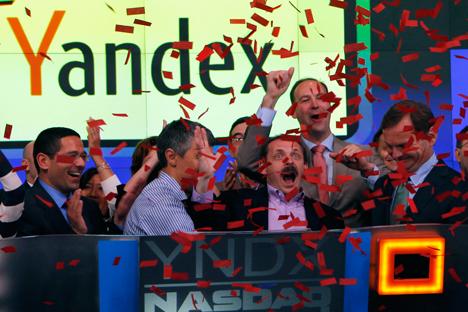 País reduziu participação das receitas provenientes de petróleo e gás natural, o setor de TI ganhou destaque entre os demais. Assim, Yandex movimentou US$ 1,43 bi na abertura da oferta inicial de ações (IPO) na Nasdaq em março deste ano Foto: Reuters