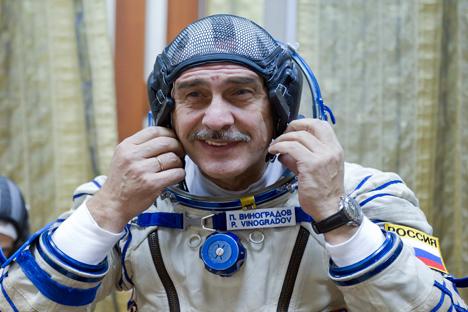 Vinogradov está entre as vinte pessoas que passaram mais tempo no espaço Foto: Reuters