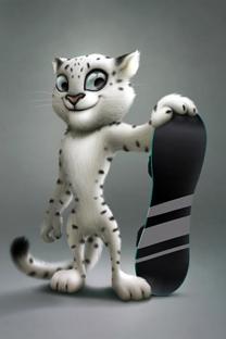 Mascote das Olimpíadas de Inverno Sôtchi 2014 Foto: Photoshot/Vostock-Photo