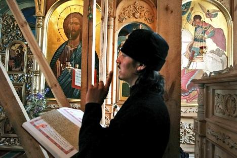 52% dos cristãos ortodoxos russos nunca leram qualquer escritura importante Foto: Serguêi Kaptilkin