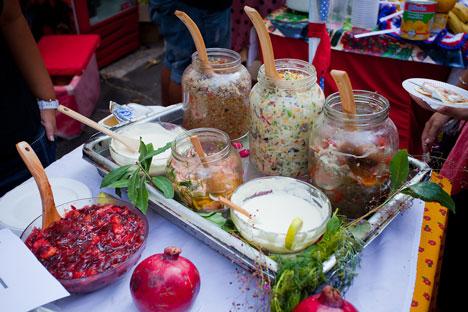Esquecida no país por um longo período, comida tradicional começa a reconquistar seu espaço Foto: Dmítri Saparov