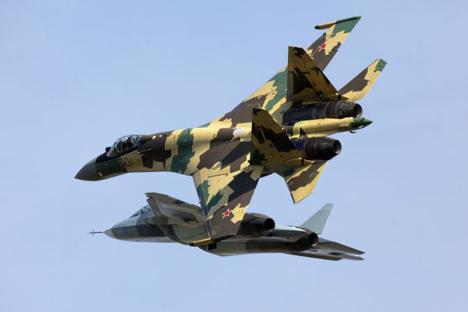 Força Aérea Russa vai adquirir pelo menos 70 caças T-50 ainda este ano Foto: ITAR-TASS