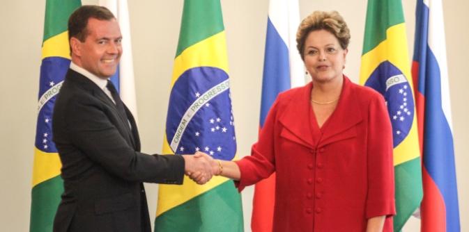 ajudará a consolidar acordos discutidos anteriormente pela presidente Dilma Rousseff com o premiê russo Dmítri Medvedev, em dezembro do ano passado Foto: Roberto Stuckert Filho/PR