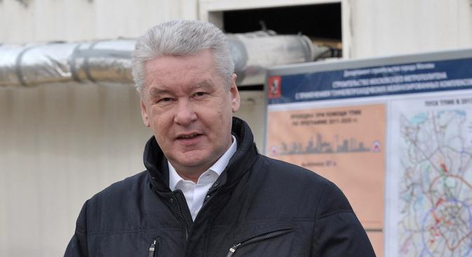 Medida estratégica pode garantir a Sobiânin um novo mandato como prefeito da capital por mais cinco anos Foto: Kommersant