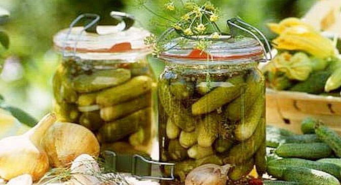 Na Feira do Pepino, é possível comprar mudas, pepinos frescos, pepinos marinados e em conserva Foto: Stockfood fotobank