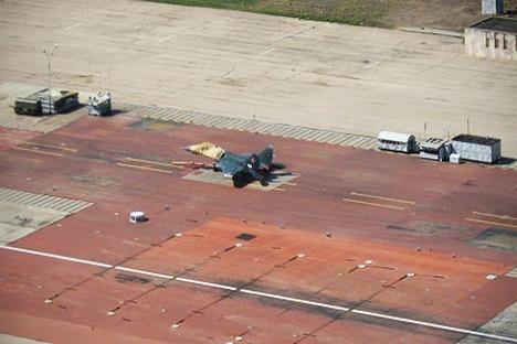 Na cidade de Eisk começaram os voos experimentais de aviões embarcados russos a partir do Complexo de Testes e Treinamento Aeronáutico Foto: wikipedia.org