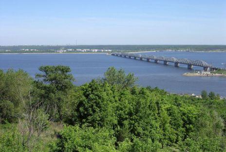 Rio Volga nos arredores da cidade Uliánovsk Foto: wikipedia.org
