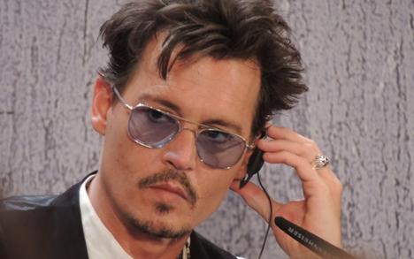 Durante entrevista coletiva, Depp confessou sua predileção pelos escritores e poetas russos Foto: Natália Paníeva