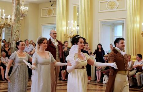 O Grande Baile, no Salão Nicolaevski do Palácio de Inverno, abria a temporada de bailes Foto: Maria Afónina