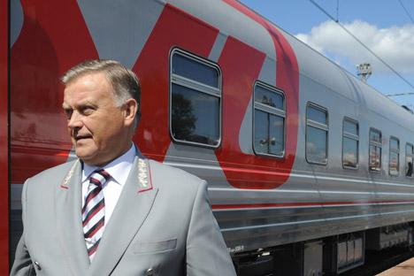 Presidente da Russian Railways, Vladímir Iakúnin, é um dos executivos que deverão apresentar relatório com finanças pessoais Foto: ITAR-TASS
