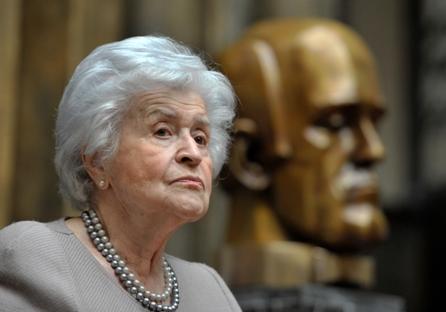 Antonova administrou o museu Pushkin por 52 anos Foto: RIA Nóvosti