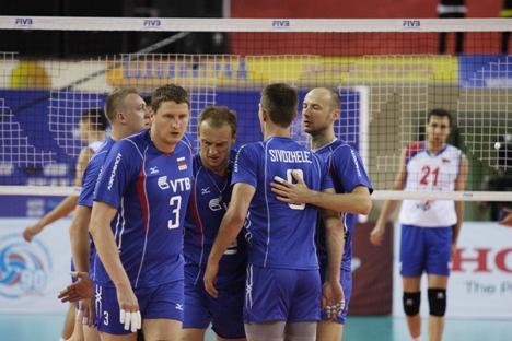 Rússia venceu a equipe da Sérvia por 3X2 no último dia 15
