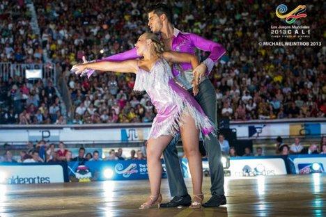 Baile esportivo Foto: worldgames2013.com