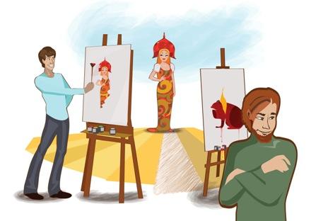 Ilustração: Aliona Répkina