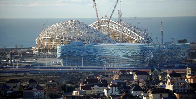Estádio de Sôtchi receberá jogos de futebol durante a Copa do Mundo de 2018 Foto: Mikhail Mordassov