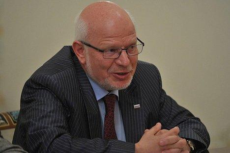 Mikhail Fedotov, presidente do Conselho de Direitos Humanos do gabinete do presidente russo Foto: wikipedia.org
