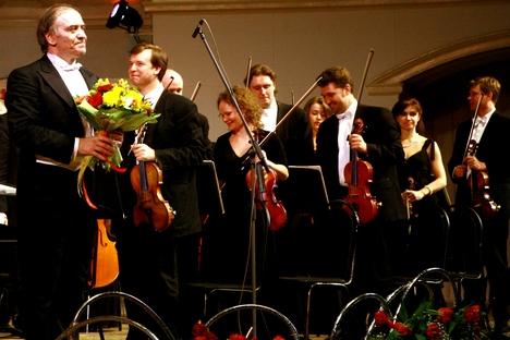 Guérguiev (esq.) programou 211 concertos em apenas um ano   Foto: wikimedia.org