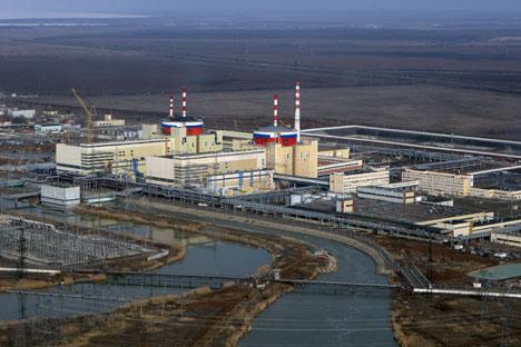 Usina de Rostov é a mais segura do mundo, de acordo com sua proprietária, Rosatom; Foto: Ria Nóvosti