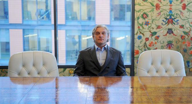 Na foto: Oleg Tinkoff, fundador da Tinkoff Credit Sistems Foto: ITAR-TASS