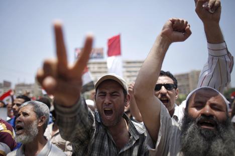 Onda de protestos por democracia e escalada da violência levaram a Rostourism à proibição dos pacotes para o Egito Foto: Reuters