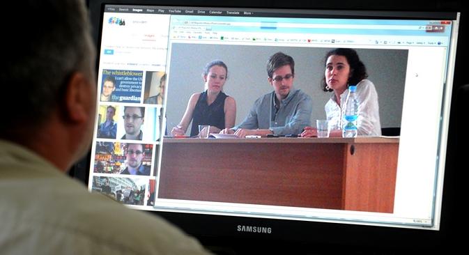 Procurado pelo governo americano, Snowden havia solicitado asilo político para 21 países Foto: AFP / East News