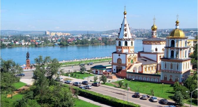 Hoje, Irkutsk é um centro cultural, industrial e científico, assim como um dos principais destinos turísticos da Sibéria Foto: Lori / Legion Media