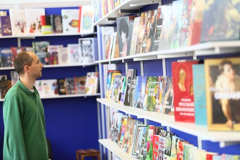 Livrarias funcionam ao mesmo tempo como clubes, salas de conferências e pontos de encontro de interessados em literatura Foto: PhotoXPress