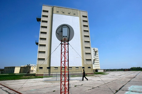 A estação de radar de Armavir, segundo os especialistas, detectou o lançamento em regime normal Foto: ITAR-TASS