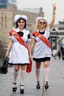 Apenas 17% dos russos são contra a exigência de uniformes escolares Foto: ITAR-TASS