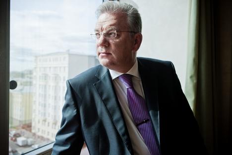 Dmítri Chugaev, diretor-geral adjunto para a cooperação internacional, comentou planos estratégicos da companhia Foto: Press Photo