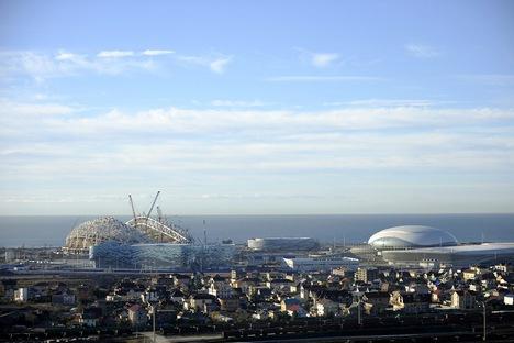 Distância entre estádios de Sôtchi será a menor da história dos Jogos Olímpicos de Inverno Foto: Mikhail Mordassov/focuspictures