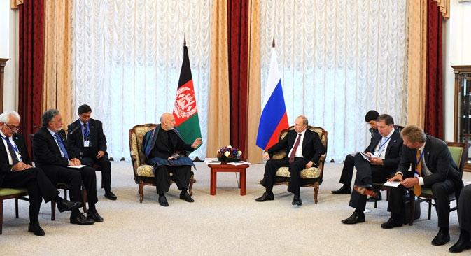 Líderes dos seis países da da Organização para a Cooperação de Xangai se reuniram em Bishkek, capital do Quirguistão Foto: ITAR-TASS