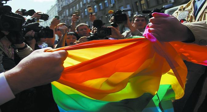 Vinte anos depois da descriminalização da homossexualidade, Moscou ainda proíbe paradas LGBT Foto: Reuters