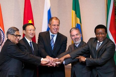 Ministros das Relações Exteriores do Brics reunidos em NY criticaram iniciativas de espionagem dos EUA Foto: AP